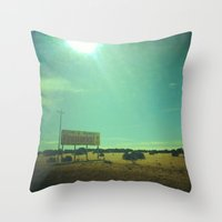 fireworks Throw Pillows featuring Fireworks! by Teran Jones