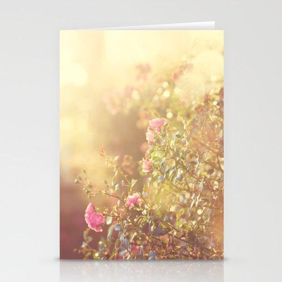 SUNLIGHT GARDEN II Stationery Cards
