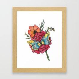 Color Flutter Framed Art Print