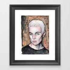 Spike Framed Art Print