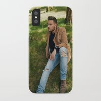 liam payne iPhone & iPod Cases featuring Liam Payne by behindthenoise