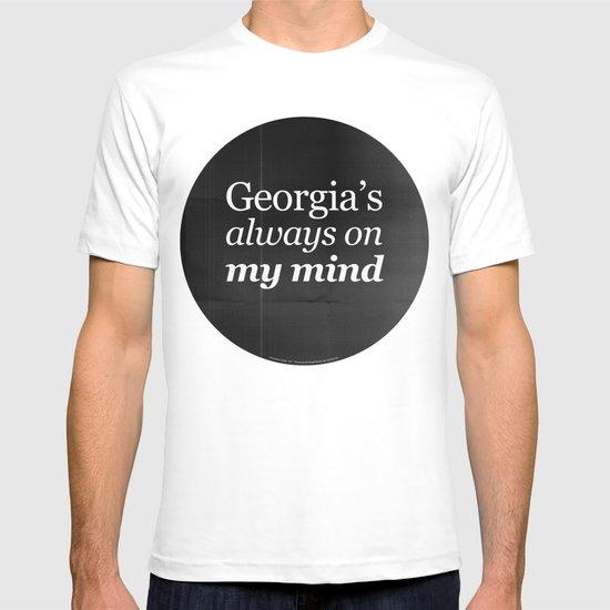 Georgia's always on my mind T-shirt