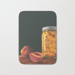 Mason Jar Peaches Bath Mat