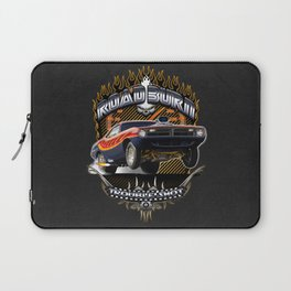 Plymouth Barracuda Road Burn - Muscle Car Laptop Sleeve