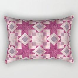 Violet quilt Rectangular Pillow