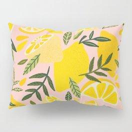 Lemon Blooms – Blush Palette Pillow Sham