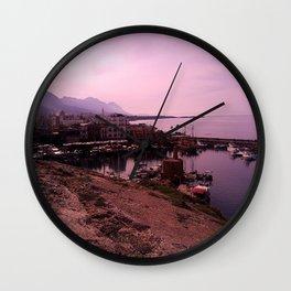 Illustration,  photo, nature Wall Clock