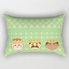 Three Wisemen Rectangular Pillow