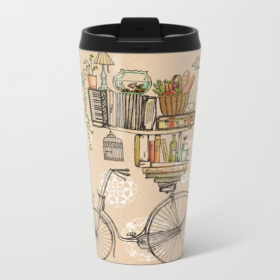 Pleasant Balance Metal Travel Mug