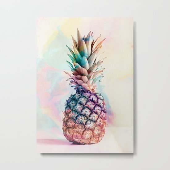 PINEAPPLE 9b Metal Print