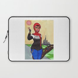 The Bassist Laptop Sleeve