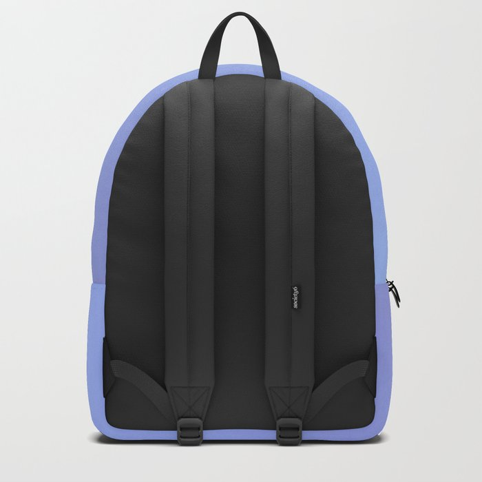BLACKOUT - Minimal Plain Soft Mood Color Blend Prints Backpack