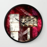 write Wall Clocks featuring Write me by Madame Shutter