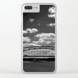 Barge on the Mississippi Clear iPhone Case