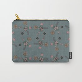 FLOWERING FLOWER Carry-All Pouch