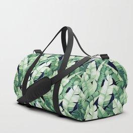 Banana leaves III Duffle Bag