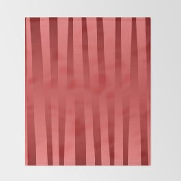Red gradient Throw Blanket