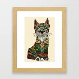 pixiebob kitten cream Framed Art Print