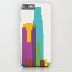 Shapes of Los Angeles accurate to scale iPhone 6s Slim Case