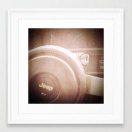 michael. Framed Art Print