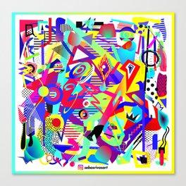 Bomb of Color Canvas Print