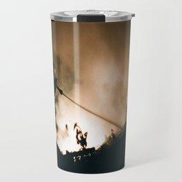 Into The Smoke Travel Mug