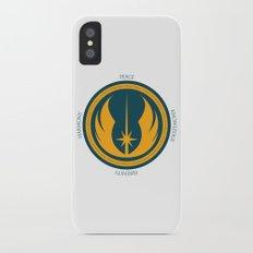 The Jedi Code iPhone X Slim Case