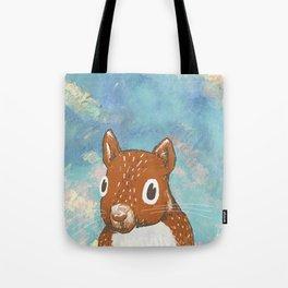 Kindergarten Squirrel.  Tote Bag