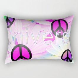 Flower Power Universe Rectangular Pillow