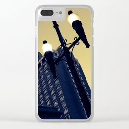 Vintage Downtown Clear iPhone Case