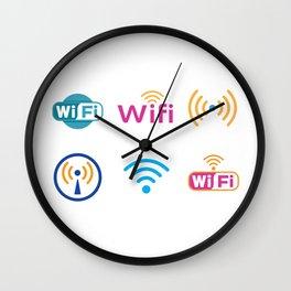 Wifi Logo Wall Clock
