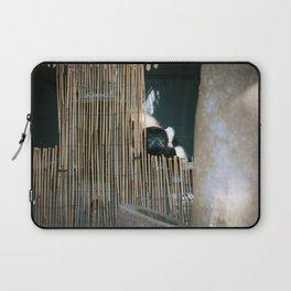 Sneaky Snarky Lemur Laptop Sleeve