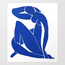 Henri Matisse - Blue Nude 1952 - Original Artwork Reproduction Art Print