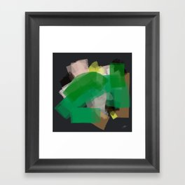This is not organic Framed Art Print