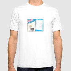 It's a new idea Mens Fitted Tee White MEDIUM