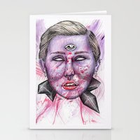 miley Stationery Cards featuring Miley by Vvaanniiee
