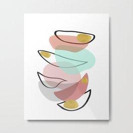 Modern minimal forms 15 Metal Print
