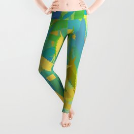 Marijuana Cannabis Weed Pot Summer Theme Leggings