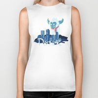 denver Biker Tanks featuring Denver by queeneyesore