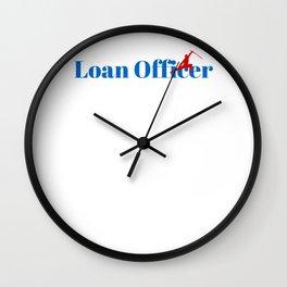 Top Loan Officer Wall Clock