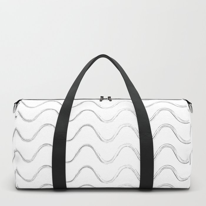 Slither Black #480 Duffle Bag