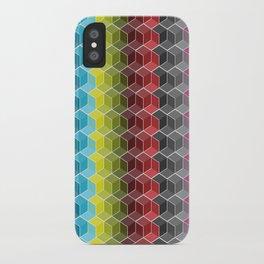 Hexagon Shades / Pattern #6 iPhone Case
