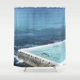 Bondi Icebergs 03 Shower Curtain