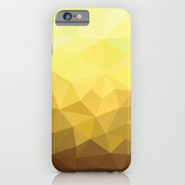 Golden Luxury iPhone Case
