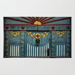 The Gate to Valhalla Rug