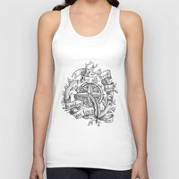 "not all who wander are lost Tank Tops featuring ""Not all those who wander are lost"" by Rose24601"
