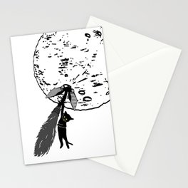 Wrong Way Witch Stationery Cards