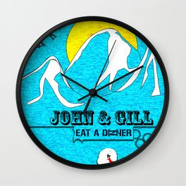 Jonh and Mayer Wall Clock