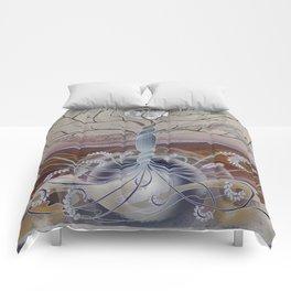 winter in the garden of eden Comforters