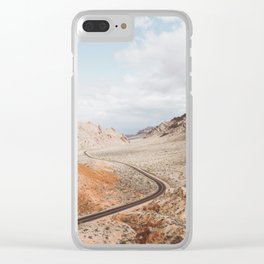 Valley of Fire | Pt. 1 Clear iPhone Case